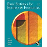 Basic Statistics for Business and Economics W/Student CD and PowerWeb