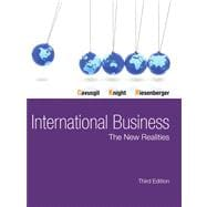 International Business The New Realities Plus NEW MyManagementLab with Pearson eText -- Access Card Package