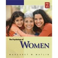The Psychology of Women, 9781133484233