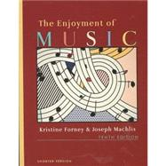 Enjoyment of Music, Shorter Tenth Edition + Student Resource DVD + Norton Recordings, Shorter Version (4 CDs)