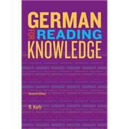 Jannach's German for Reading Knowledge,9781133604266