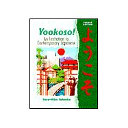 Yookoso! An Invitation to Contemporary Japanese (Student Edition + Listening Comprehension Audio CD)