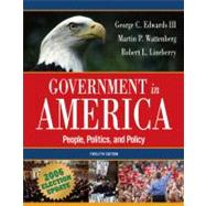 Government in America : People, Politics, and Policy: 2006 Election Update,9780321434289