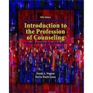 Introduction to the Profession of Counseling,9780135144305