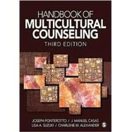 Handbook of Multicultural Counseling,9781412964326