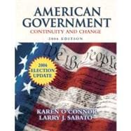 American Government: Continuity and Change, 2006 Election Update,9780321434340