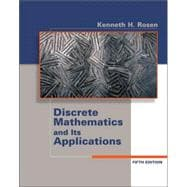 Discrete Mathematics and its Applications,9780072424348