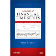 Analysis of Financial Time Series,9780470414354
