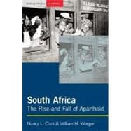 South Africa : The Rise and Fall of Apartheid,9780582414372