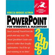 Powerpoint 2000/98: For Windows and Macintosh,9780201354416