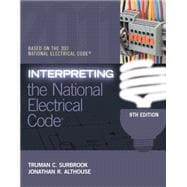 Interpreting the National Electrical Code,9781111544423