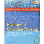 Realities of Canadian Nursing: Professional, Practice, and Power Issues,9780781734431