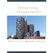 Operations Management and Student CD and Student DVD Package,9780131554443