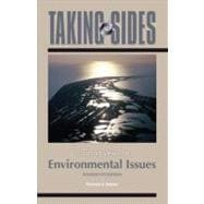 Taking Sides - Clashing Views on Environmental Issues,9780073514468