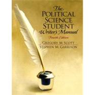 The Political Science Student Writer's Manual,9780130404473