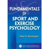 Fundamentals of Sport and Exercise Psychology, 9780736074476  
