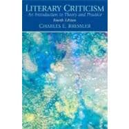 Literary Criticism : An Introduction to Theory and Practice