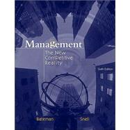 Management: The New Competitive Landscape with CD and PowerWeb,9780072844498