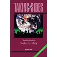 Taking Sides : Clashing Views in Sustainability,9780073514505