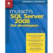 Murach's SQL Server 2008 for Developers, 9781890774516  