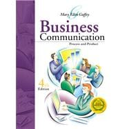 Business Communication : Process and Product,9780324114522