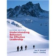 Understanding Behaviors for Effective Leadership,9780131484528