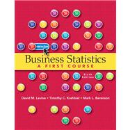 Business Statistics Plus MyStatLab with Pearson eText -- Access Card Package,9780132934534
