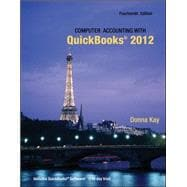 Computer Accounting with Quickbooks 2012 and Student CD, 9780077624538