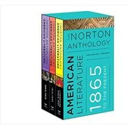 Norton Anthology of American Literature Vols. C+D+E (9th edition)