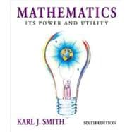 Mathematics Its Power and Utility