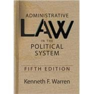 Administrative Law in the Political System,9780813344560
