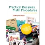 Practical Business Math Procedures Brief Edition with Student DVD, wsjinsert,BuMath Handbook