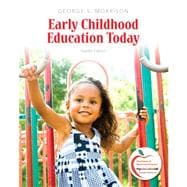 Early Childhood Education Today,9780137034581