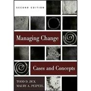 Managing Change:  Text and Cases
