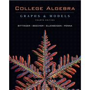 College Algebra : Graphs and Models with Graphing Calculator Manual Package Value Pack (includes MyMathLab/MyStatLab Student Access Kit and Video Lectures on CD with Optional Captioning for College Algebra: Graphs and Models),9780321584601