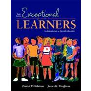 Exceptional Learners: Introduction to Special Education (with Cases for Reflection and Analysis),9780205474622