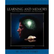 Learning and Memory : Basic Principles, Processes, and Procedures,9780205354627