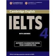 Cambridge IELTS 4 Student's Book with Answers: Examination papers from University of Cambridge ESOL Examinations