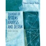 Essentials Of System Analysis And Design,9780131854628