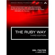 The Ruby Way Solutions and Techniques in Ruby Programming, 9780321714633  