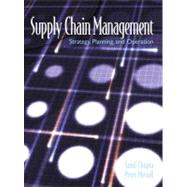 Supply Chain Management Strategy, Planning and Operations: Strategy, Planning and Operation