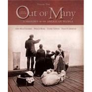 Out of Many: A History of the American People, Volume II (Chapters 16-31),9780131944664