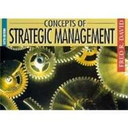 Concepts of Strategic Management