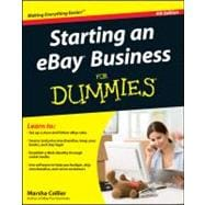 Starting an eBay Business For Dummies,9781118004678