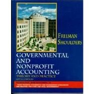 Governmental and Nonprofit Accounting: Theory and Practice,9780130264695