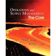 Operations and Supply Management: The Core with Student DVD-ROM: ,9780073294735