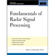Fundamentals of Radar Signal Processing, 9780071444743