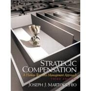 Strategic Compensation : A Human Resource,9780131824768