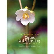 Introduction to Organic and Biochemistry (with CD-ROM and CengageNOW Printed Access Card),9780495014775