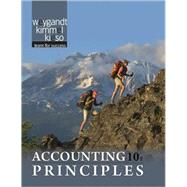 Accounting Principles, 9780470534793  